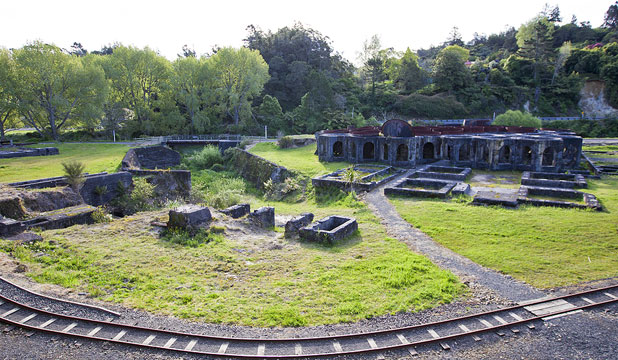 RUINS: What is left of the Victoria Battery.