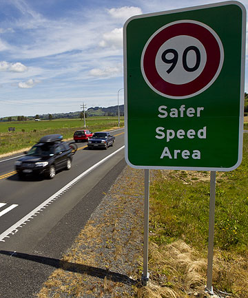 BLACK SPOTS: New speed restrictions have come into place on State Highway 2 to help curb accidents.