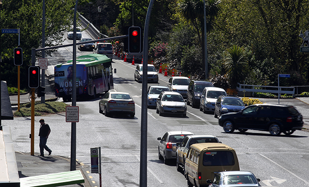 DANGER LURKS: The  intersection of Bridge St and Victoria St has been identified as a high crash zone. There were four serious crashes there  in the five years to 2011.