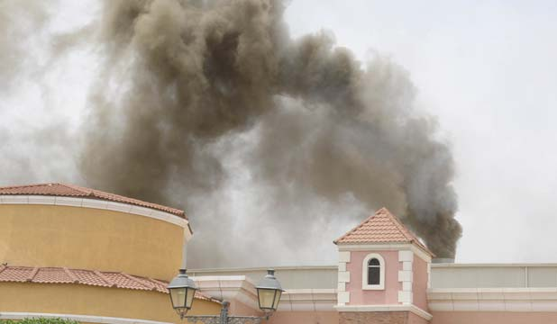 Qatar mall fire