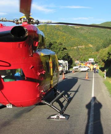 Nelson Marlborough Rescue Helicopter