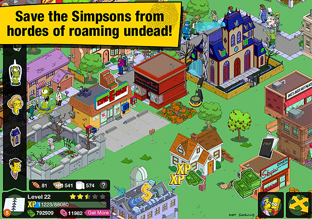 The Simpsons: Tapped Out - Treehouse of Horror