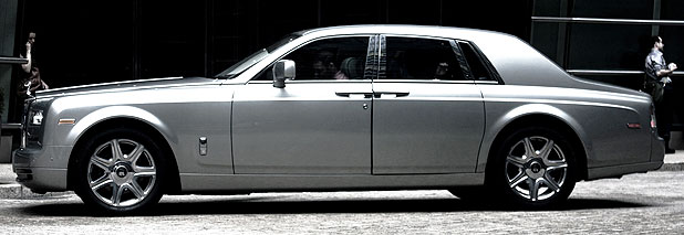 The Rolls-Royce Phantom II.