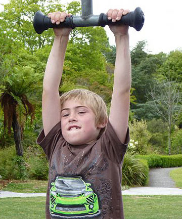 TRAGEDY: Shane White, 10, who was killed on a Wairarapa farm when the quad bike he was driving flipped.