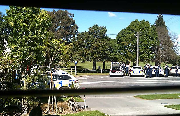 Christchurch armed stand-off