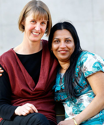 Ruth Tapper and Shashi Lala say their bravery award brings back sad memories