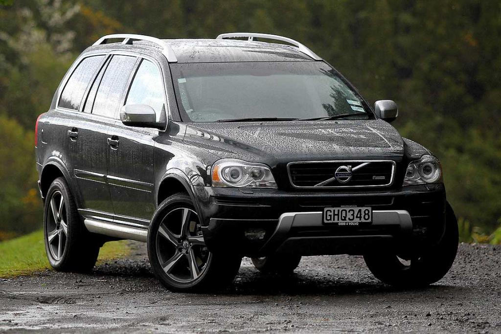 The Volvo XC90 D5 R-Design.