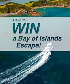 Win a Bay of Islands holiday!