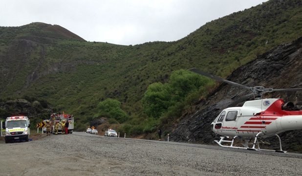 Kawarau Gorge crash