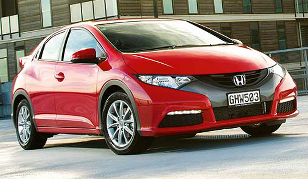 The Honda Civic Euro hatch.