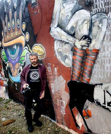 Photographer James Gilberd says documenting street art is valuable