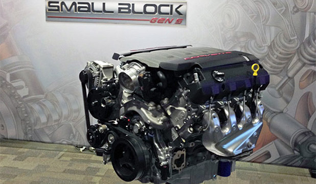 The LT1 6.2-litre V8 that will po