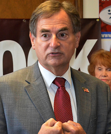 Indiana Republican US Senate candidate Richard Mourdock