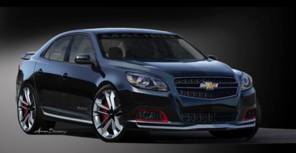 The Chevrolet Malibu Turbo for the 2012 SEMA show in Las Vegas.