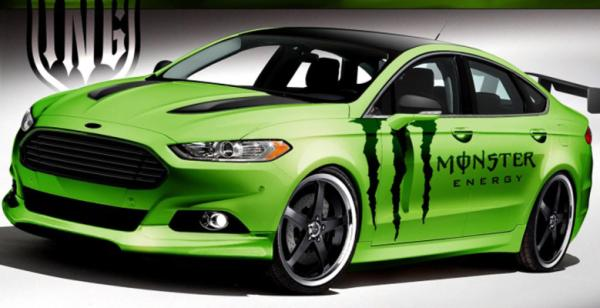 Ford's Monster-inspired Fusion for the 2012 SEMA show in Las Vegas.