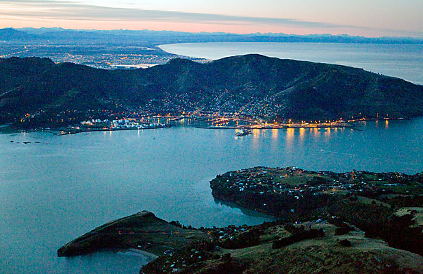 Port Hills and Lyttelton