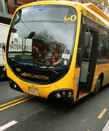 Wellington bus