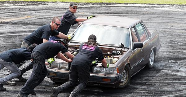 Scrap Palace's Fifth Burnout Competition took p