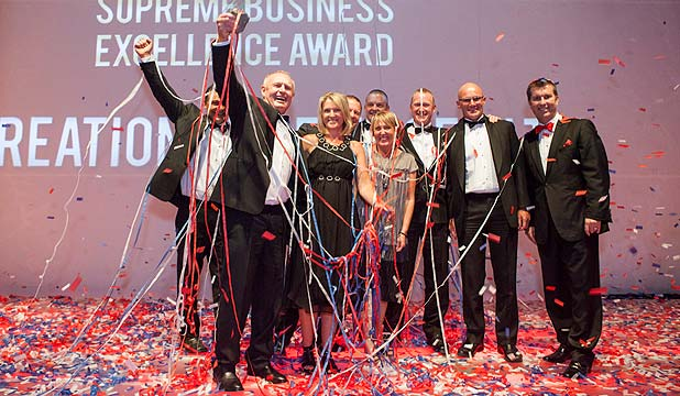 Wetspac business award winners