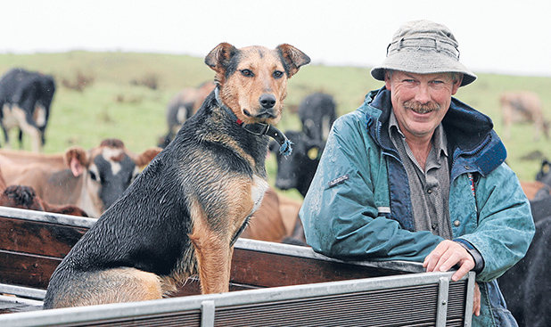 WANTS FARMERS IN CHARGE: Former Federated Farmers dairy chairman Lachlan McKenzie says amendments he will present protect dairy farmers' interests.