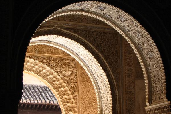 We visited Andalucia in Southern Spain a few years ago, and saw lots of beautiful sights. The pick of the lot was The Alhambra Palace in Granada, and the filigree work was amazing.