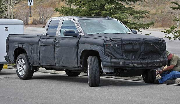 The 2014 GM Sierra on test.