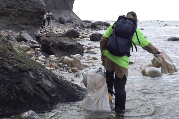 Great Coastal Clean Up in Fiordland