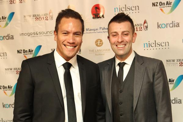 Tamati Coffey and Tim Smith