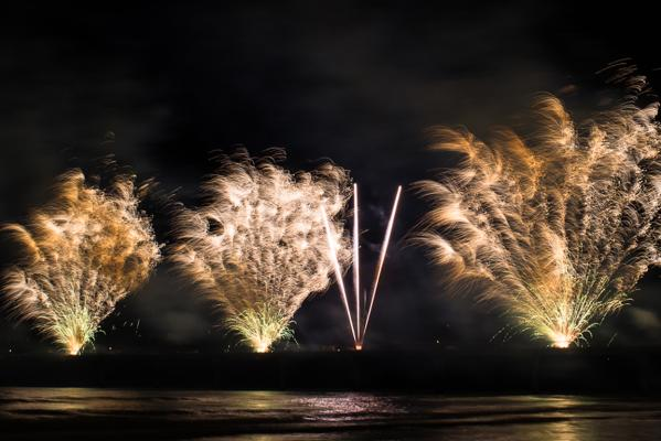 New Brighton fireworks