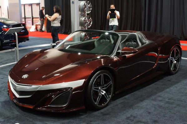 The Acura NSX Concept at the 2012 Sema Show in Las Vegas.