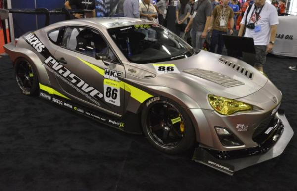 A Scion FR-S at the 2012 Sema Show in Las Vegas.