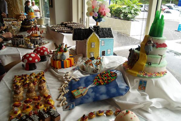 AUT student patisserie showcase