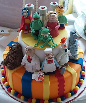 AUT Cake showcase, the muppets