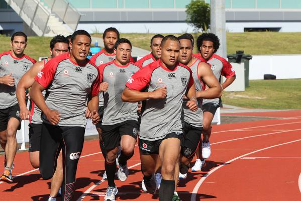 Warriors training