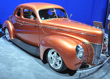A 1940 Ford Coupe.