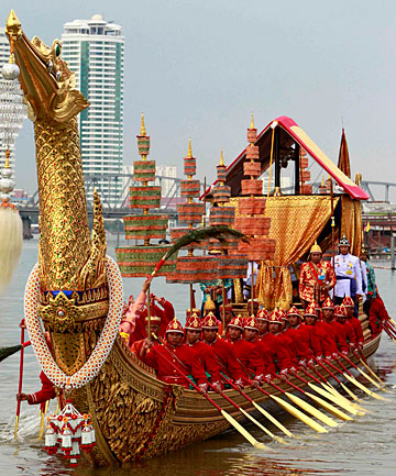 Thailand's Royal Barge Procession