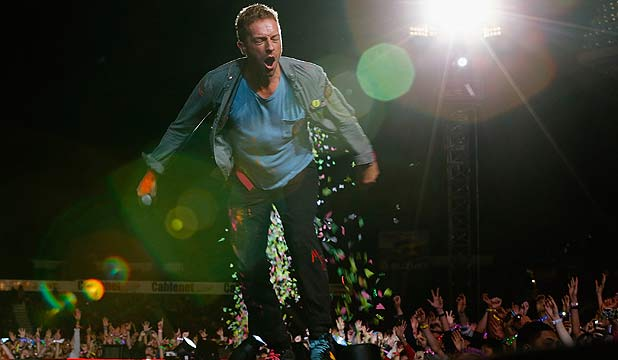 Coldplay Mt Smart