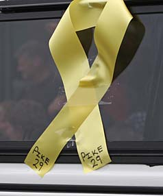 Pike River yellow ribbon