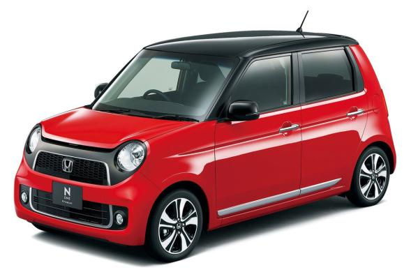 Honda N-One: Uses design cues from the 60s car to good effect.