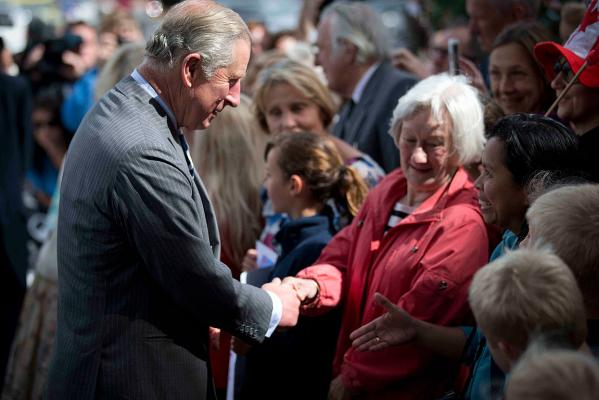 Charles and Camilla in NZ