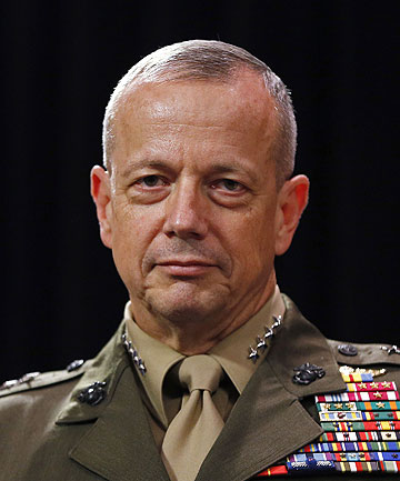 UNDER INVESTIGATION: US General John Allen.