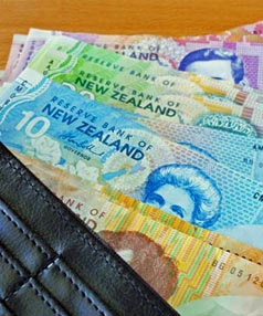 NZ dollars1 std