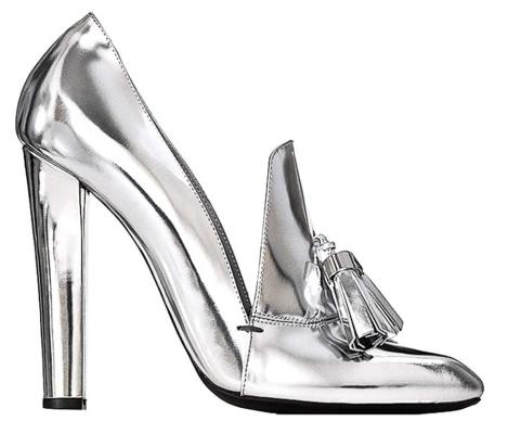 The metallic shoe: Alexander Wang