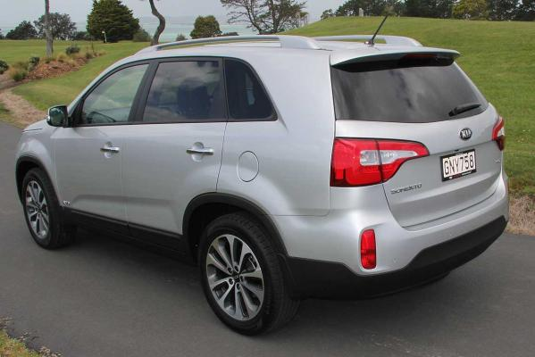 The facelifted Kia Sorento