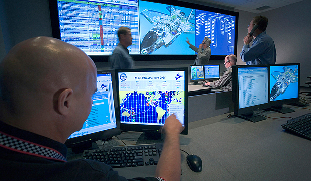 Autonomic Logistics Information System Ops Centre