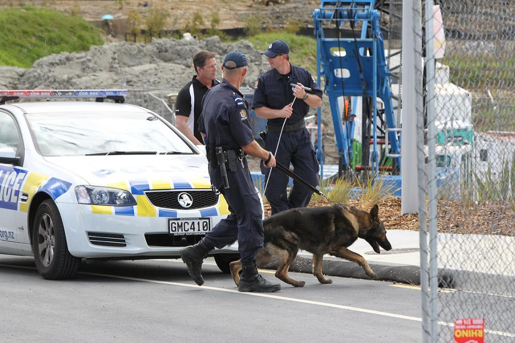 Police search Long Bay subdivision