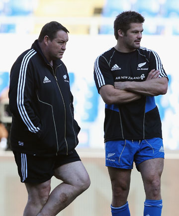 Steve Hansen and Richie McCaw