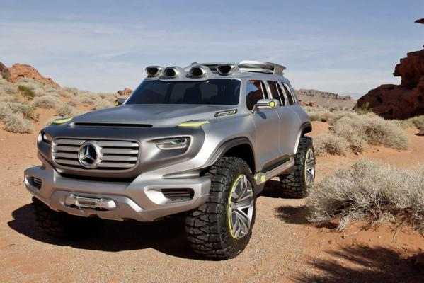 Mercedes-Benz Ener-G-Force.