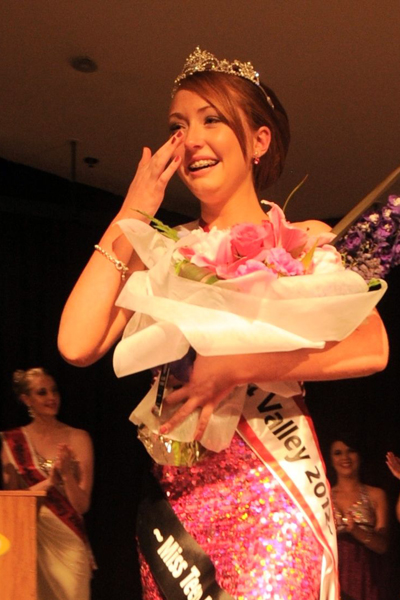 Miss Hutt Valley teen