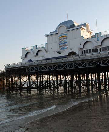 The South Parade Pier.